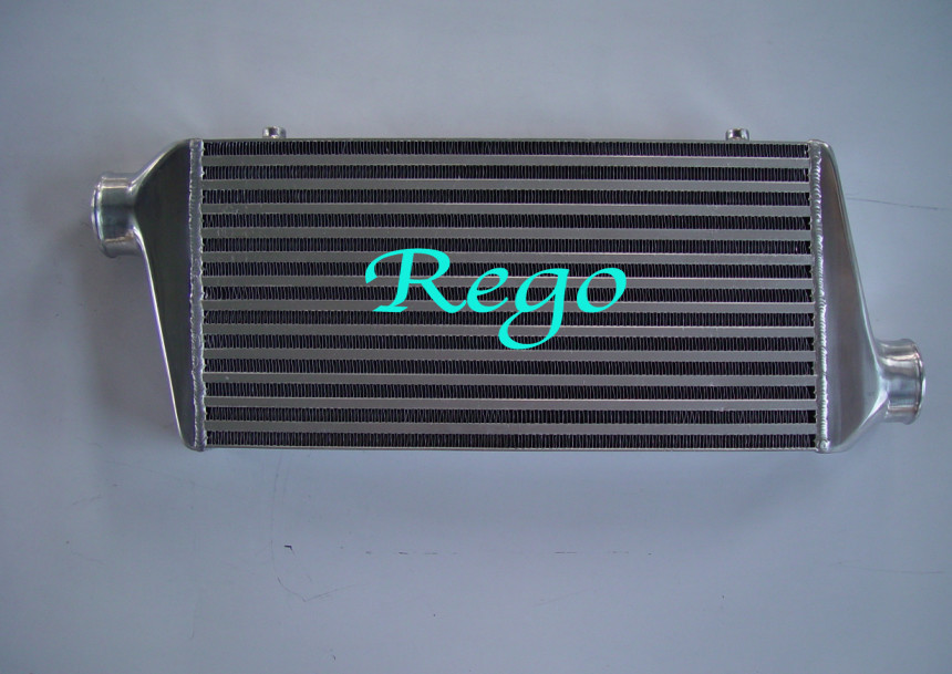 Highly Polished Universal Front Mounted Intercooler Air To Water / Water To Air