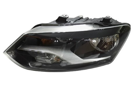 Standard Size Smoke Black VW POLO Led Lights Headlights Leaft Hand Side